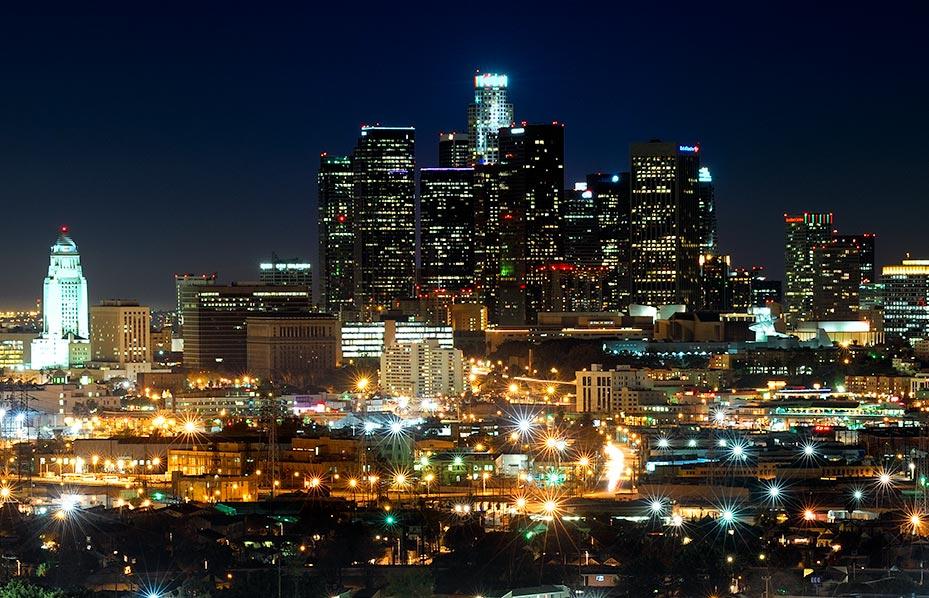 Los Angeles La Cit Des Anges Sur