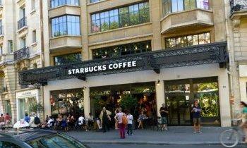 Adresse Starbucks Paris