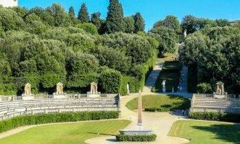 Florence : jardins de Boboli