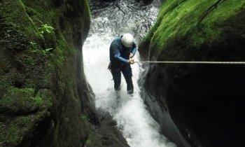 Canyoning à la Guadeloupe