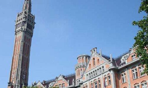 Lille : le beffroi de l'hôtel de ville