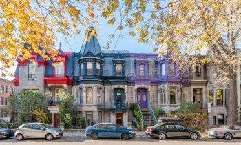 Montréal : Le plateau Mont-Royal