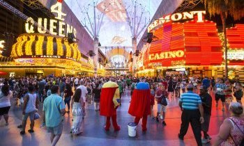 Las Vegas : Fremont street