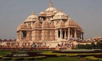 New Delhi : temple Akshardham