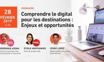 Webinaire sur les Enjeux du Digital pour les Destinations