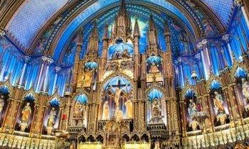 Montréal, la basilique Notre Dâme