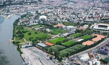 Lyon, le parc de Gerland