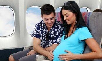 Prendre l'avion enceinte
