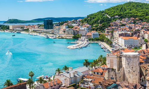 Plus beaux sites historiques en Croatie