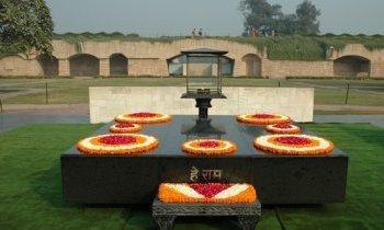 New Delhi : Raj Ghat