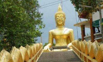 Pattaya, la colline de Bouddha