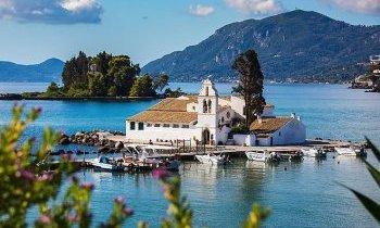 Corfou en Grèce