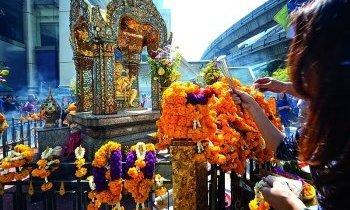 Bangkok : Sanctuaire d'Erawan