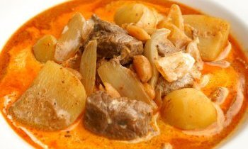 Thaïlande, recette Massamam Poulet