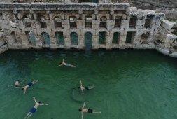 Ankara : Les thermes romains