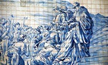 Les azulejos à Porto