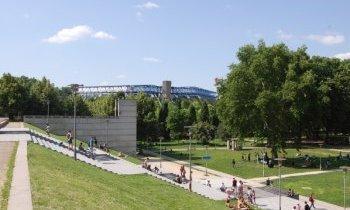 Parc de Bercy Sud-est parisien