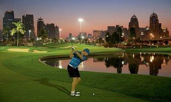 Faire du golf à Dubai