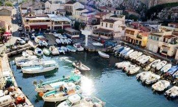 Marseille : Le Vallon des Auffes