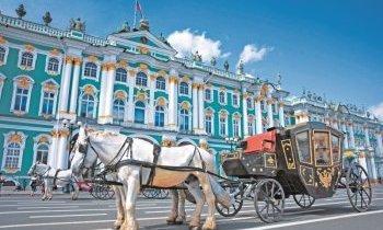 Visite de Saint-Pétersbourg