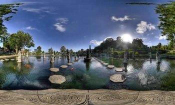 Bali : Water Palace de Tirtagganga