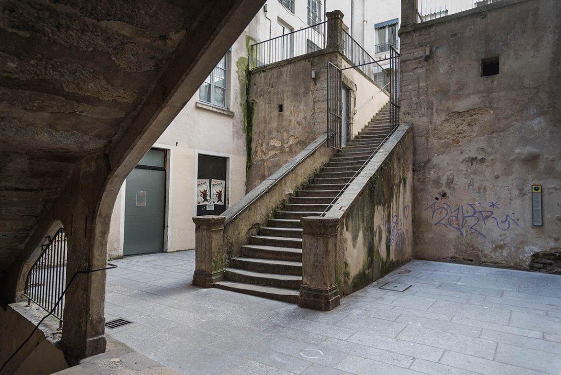 Lyon, les pentes de la Croix Rousse