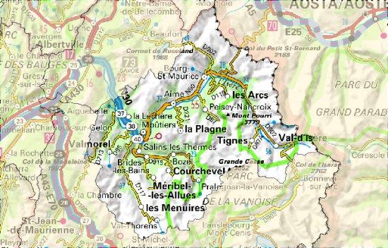 Savoie, la Vanoise Tarentaise