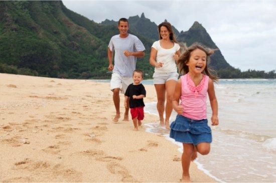 Passer de bonnes vacances en famille