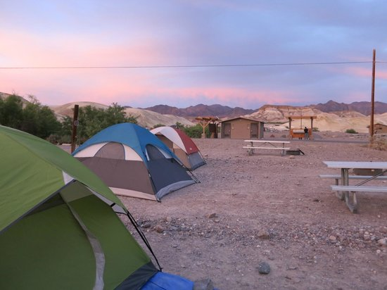 Dormir à Death Valley